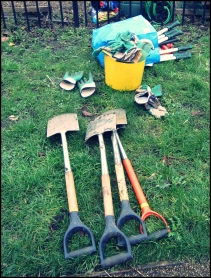 Tools ready for action