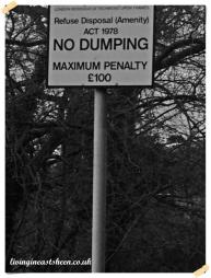 Definately no dumping!