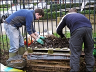 Re-building of the new bug hotel