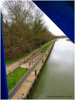A sneak preview of the waterside path
