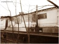 A huge boathouse