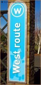 West Route Entrance
