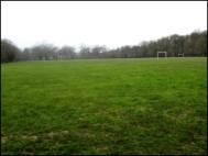 The Palewell Common football area
