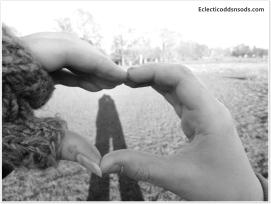 Capture a loving shadow