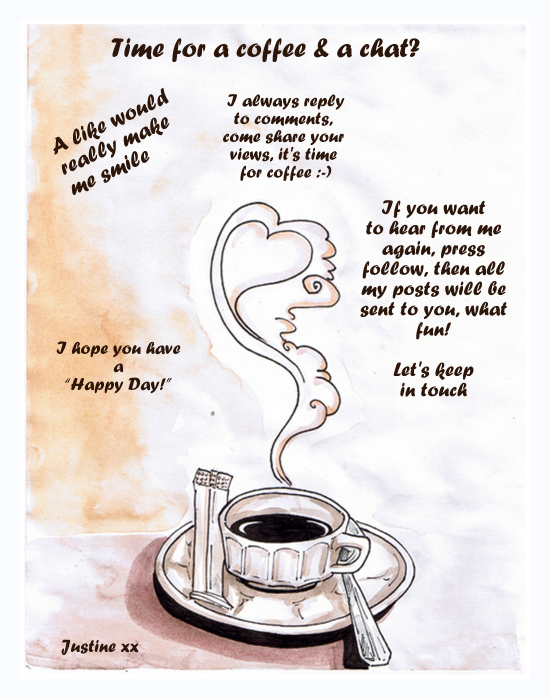 Swirling coffee & how to keep in touch