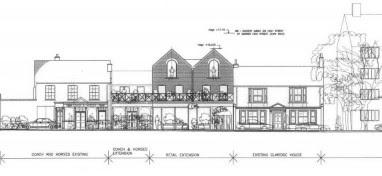 Marks & Spencers development plans for Barnes
