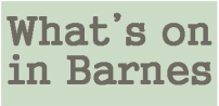 Barnes Newsletter whats on