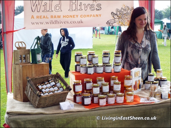 Wild Hives Stall at Mortlake Fair