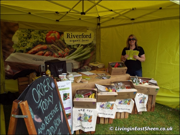 Riverford Organic Farms at Mortlake Fair