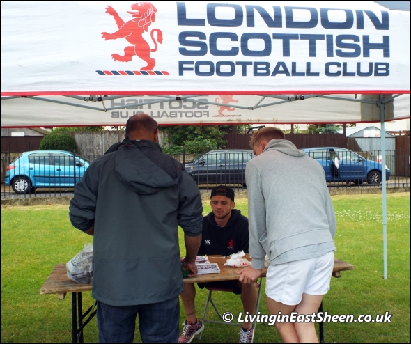 London Scottish Football Club at Mortlake Fair
