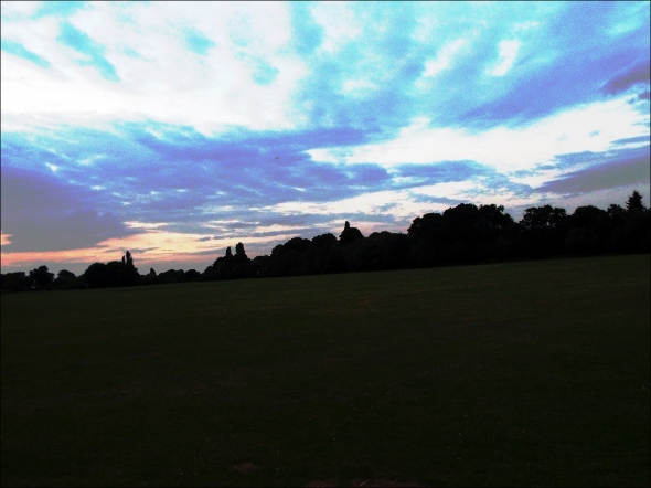 the sky over the common