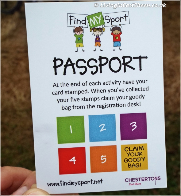 Find My Sport Passport