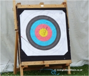 Bulls eye for my eldest