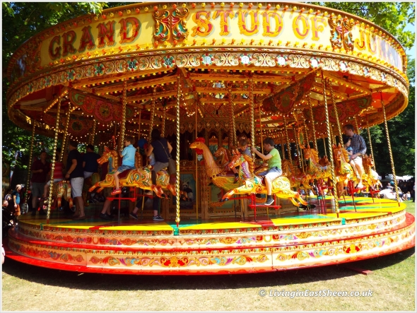 The lightning speed merry go round
