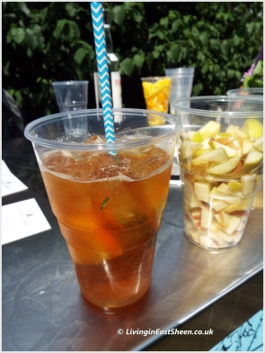 Lovely strong pimms