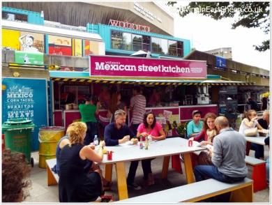 The yummy burrito stall