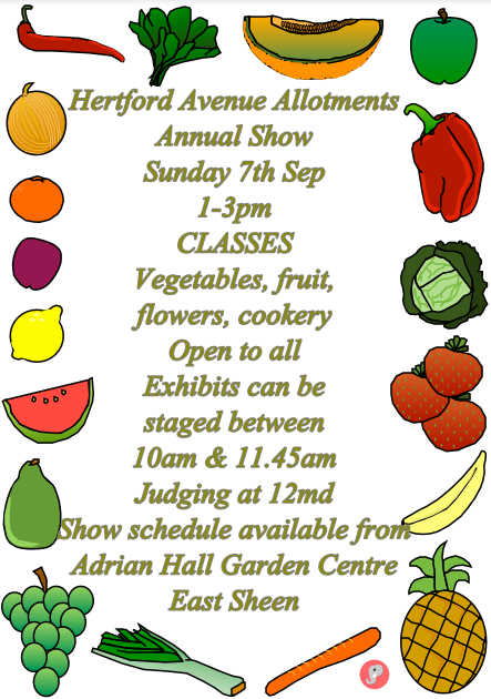Hertford Avenue Annual Show