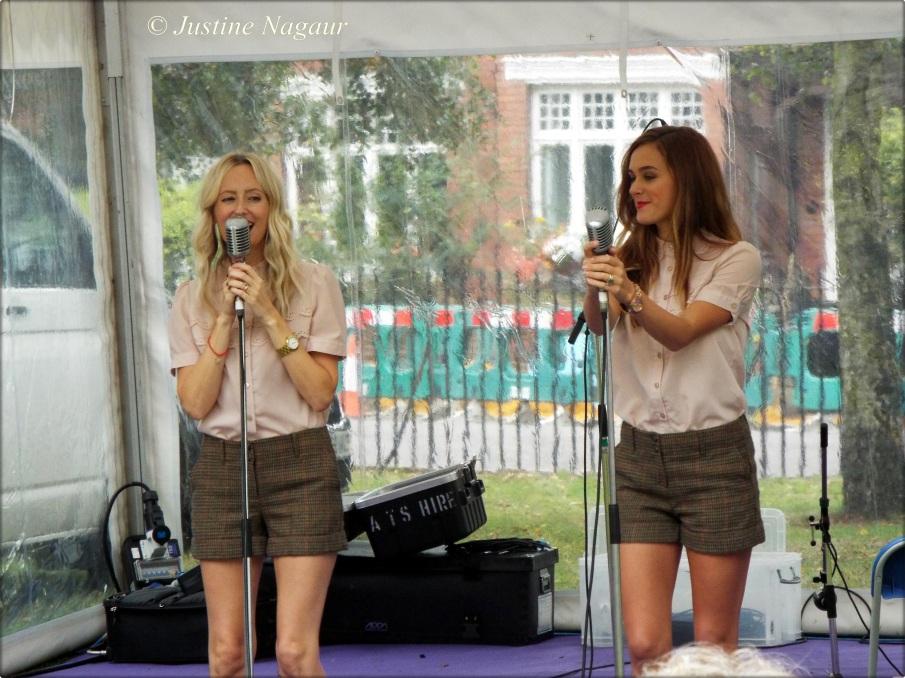 Swing music at the Barnes Food Fair