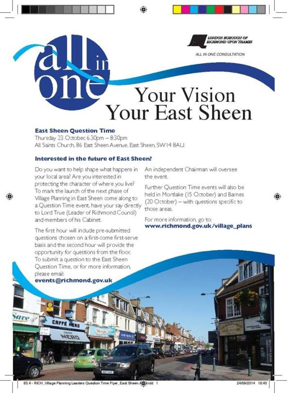 Your Vision Your East Sheen