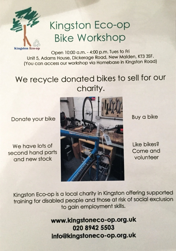 Kingston Eco-op Bike Workshop
