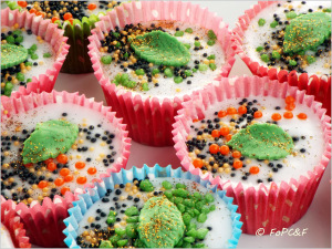 Fairy cakes theme for the 'Friends'