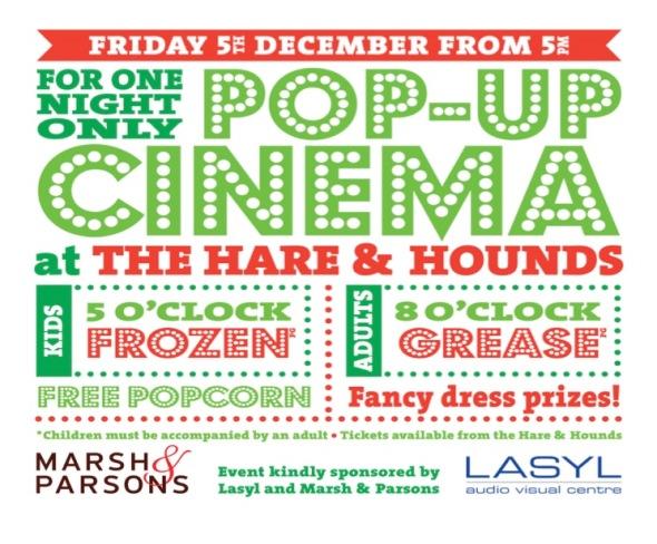 East Sheen Pop Up Cinema