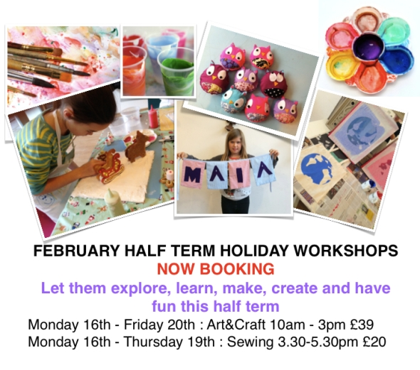 Craft House Half Term Activities