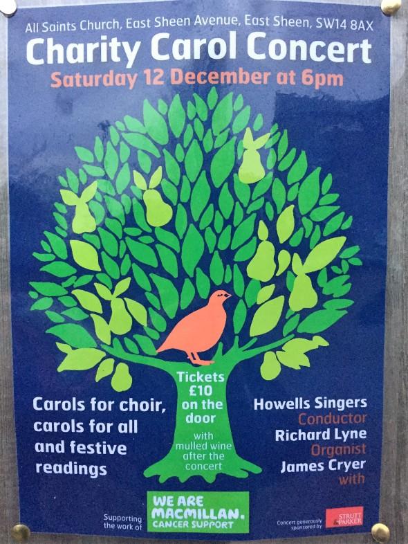 Charity Carol Concert All Saints Church