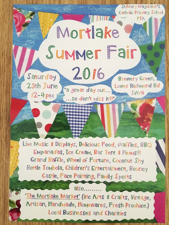 Mortlake Summer Fair 2016